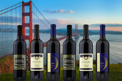 The Best of California Red 6 Pack